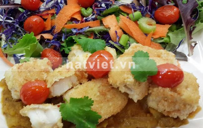 Cashew Coconut Fish Bites