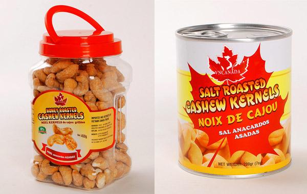 Sản phẩm xuất sang thị trường Canada