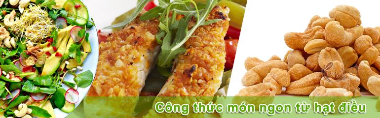 45 công thức món ngon từ hạt điều Vietnuts - SIMPLE FOOD RECIPES