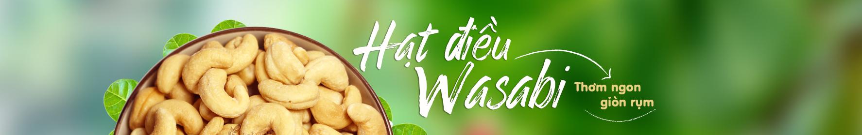Hạt điều wasabi Vietnuts
