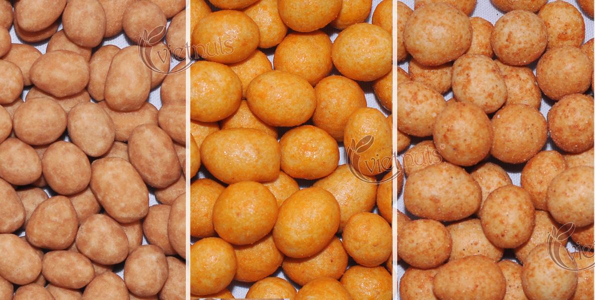 Đậu phộng nước cốt dừa, đậu phộng vị phô mai, đậu phộng vị tôm Vietnuts