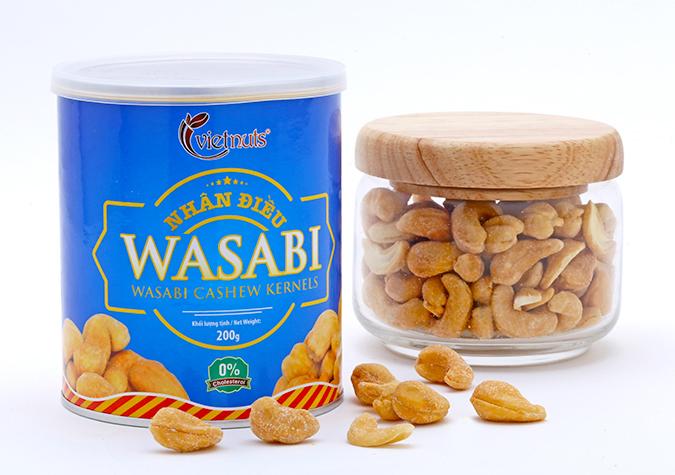 Hạt điều wasabi Vietnuts 200g