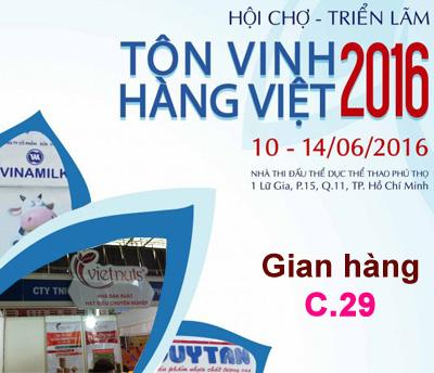 Hạt Việt tham gia hội chợ TÔN VINH HÀNG VIỆT