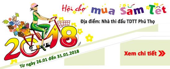 Hạt Việt tham gia hội chợ Tết 2018
